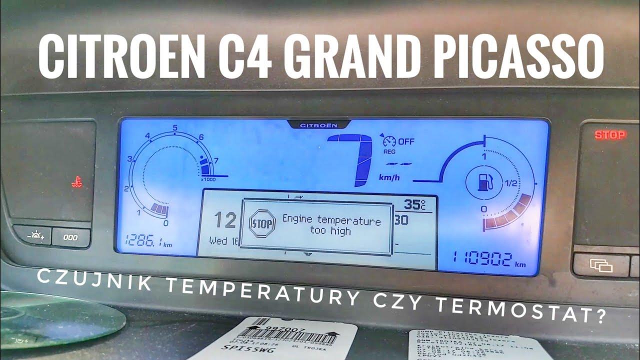 citroen c4 grand picasso engine temperature too high stop [ 1280 x 720 Pixel ]