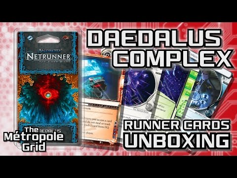 Netrunner Unboxing: Daedalus Complex - Runner Cards