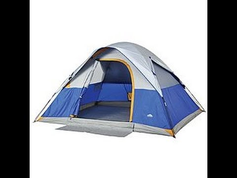 Northwest Territory, Silver Dome, Four Person Tent Review