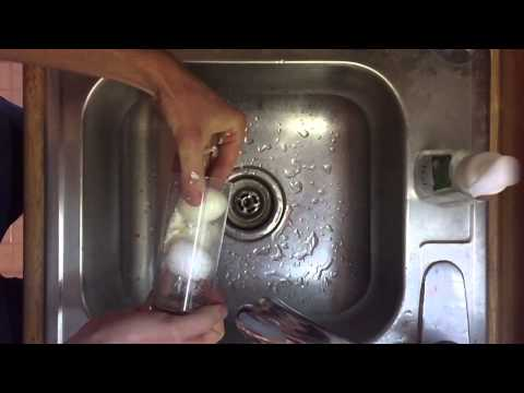 How To Peel Two Boiled Eggs In One Glass - YouTube