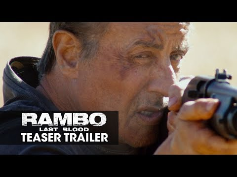 Ken Holiday - new Rambo trailer out there. Yes, Sly is back at age 72