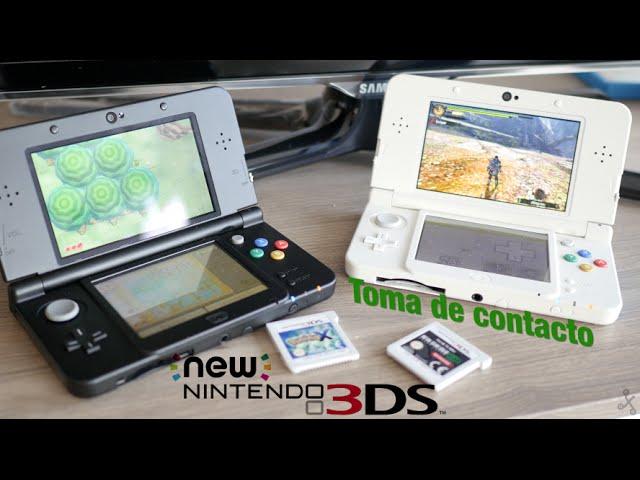 New Nintendo 3ds Y 3ds Xl Toma De Contacto