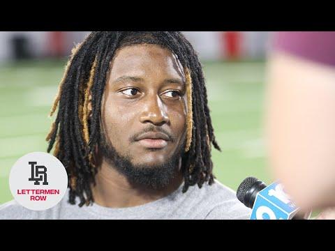 Davon Hamilton: Ohio State defensive lineman talks with media as Buckeyes prepare for Rutgers