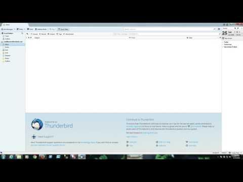 Microsoft Outlook Alternative - Mozilla Thunderbird Install and Setup