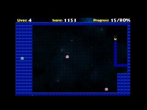 Pacman  Pac Xon - ADDICTING PC Game