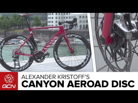 Alexander Kristoff's Canyon Aeroad CF SLX Disc | Tour de France 2017