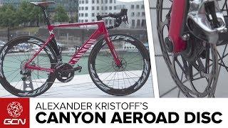 Alexander Kristoff's Canyon Aeroad CF SLX Disc   Tour de France 2017