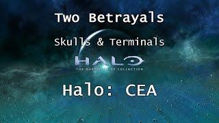 Halo: MCC [Halo: CEA] | Skulls & Terminals - Mission 8 - Two Betrayals | Collectibles
