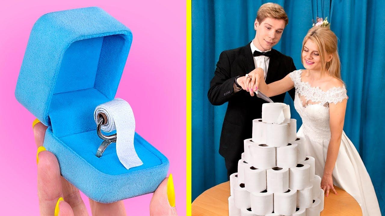 12 пранков и лайфхаков с туалетной бумагой