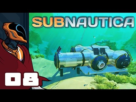 Let's Play Subnautica [Precursor Update] - PC Gameplay Part 8 - Exit Stage Anywhere But Here