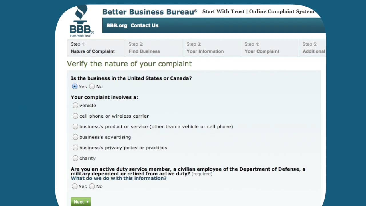 How to file a complaint with BBB - YouTube