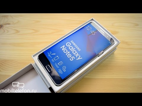 Распаковка Samsung Galaxy Note 5 рядом с Meizu Pro 5, Xperia Z5 Premium, S6 (unboxing)