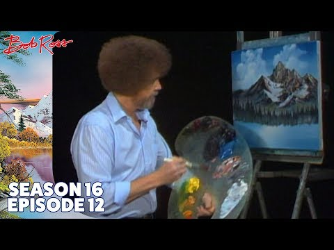 Bob Ross - Mighty Mountain Lake (Season 16 Episode 12)