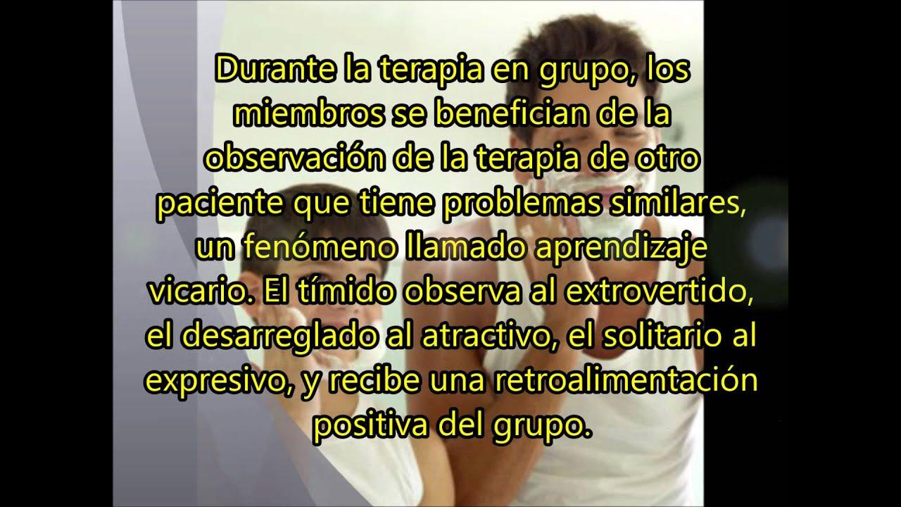 Factores Terapéuticos en Terapia de Grupo (Factores ...