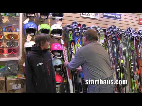 Sizing Junior Race Skis