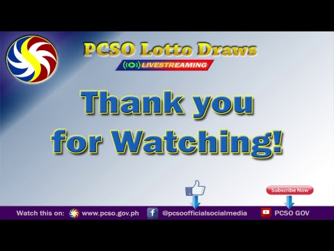 [LIVE]  PCSO 4:00PM Lotto Draw - February 17, 2019