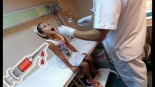 Elifi doktora götürdük.. Doktor ısrarlarımıza rağmen iğne yap....
