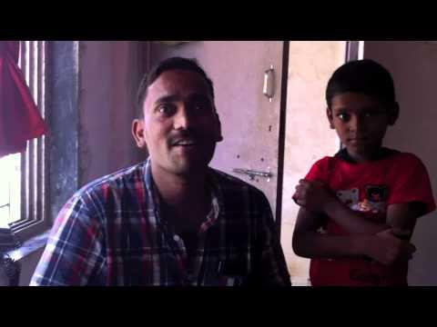 India 2011, Krupa's slum work!