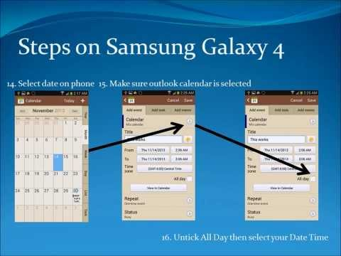 how to change default calendar on android
