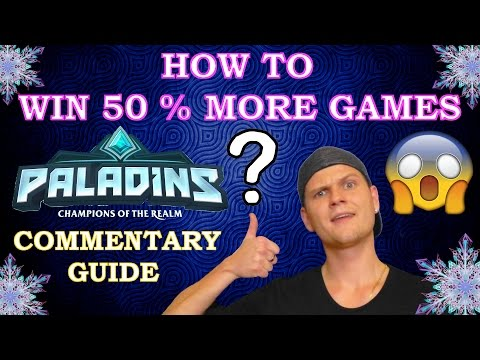 PALADINS - HOW TO WIN 50% MORE GAMES  - 3 TIPS ( Commentary Guide )