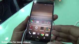 HTC One E9 Plus (E9+) India Hands on Review - Camera, Features, Design, Price