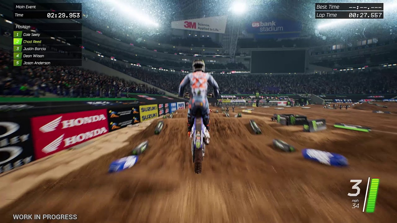 monster energy supercross the official videogame switch. Black Bedroom Furniture Sets. Home Design Ideas