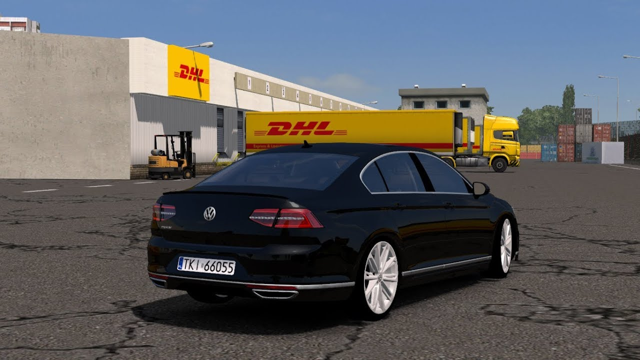 euro truck simulator 2 volkswagen passat b8 youtube. Black Bedroom Furniture Sets. Home Design Ideas