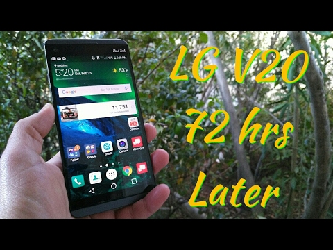LG V20 my experience after using for 72 hrs as my daily driver