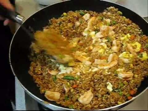 How to make fried rice shrimp fried rice authentic chinese style how to make fried rice shrimp fried rice authentic chinese style fast easy recipe forumfinder Choice Image