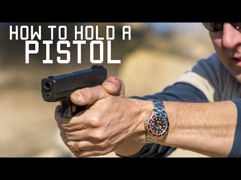 How To Hold A Pistol | Special Forces Instruction | Tactical Rifleman