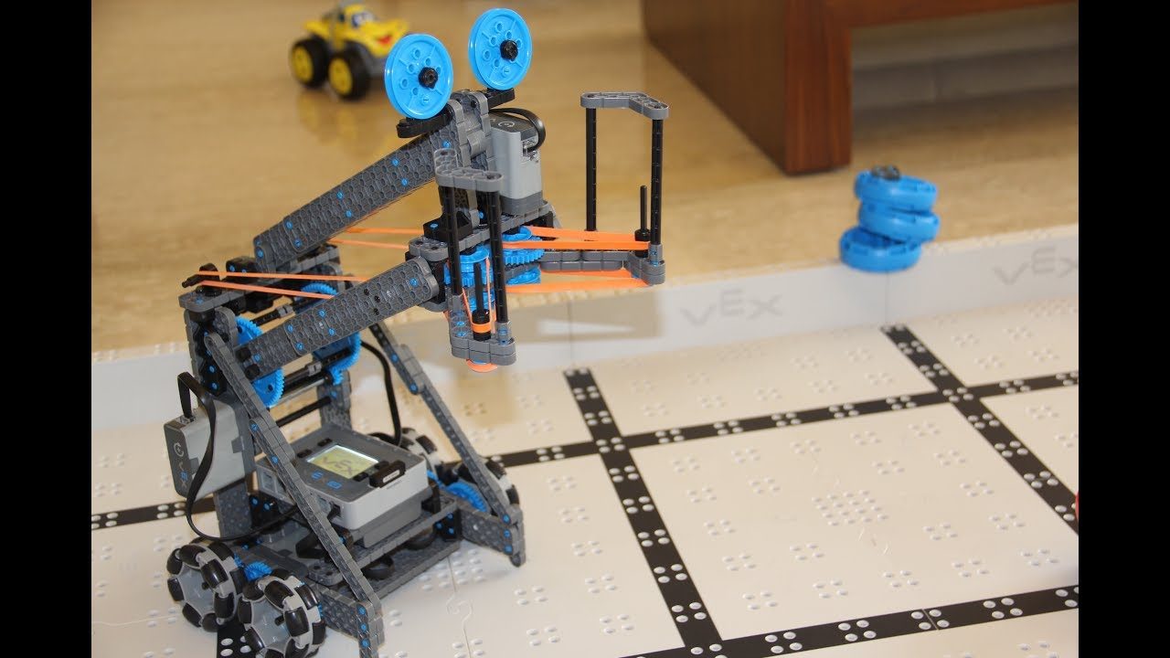 Vex Iq Stretch Build Instructions Timelapse Youtube