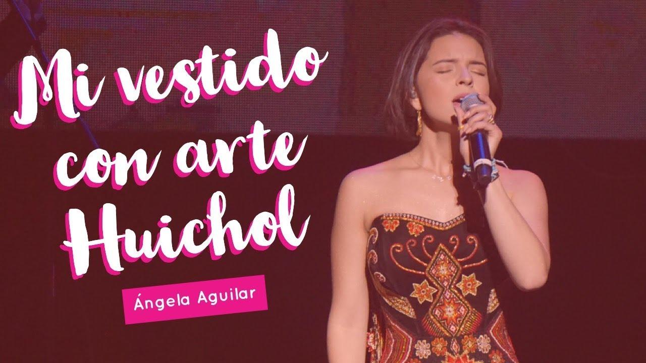 Angela Aguilar Mi Vlog 15 Mi Vestido Con Arte Huichol