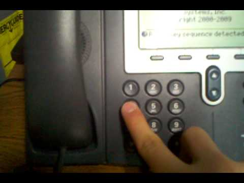 How to Reset a Cisco 7940 IP Phone