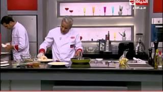 برنامج المطبخ – السمك السلمون المقلى – الشيف يسرى خميس – Al-matbkh