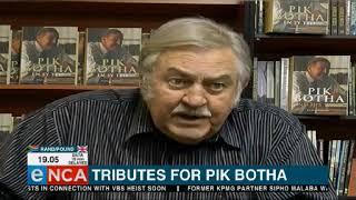 Tribute for Pik Botha