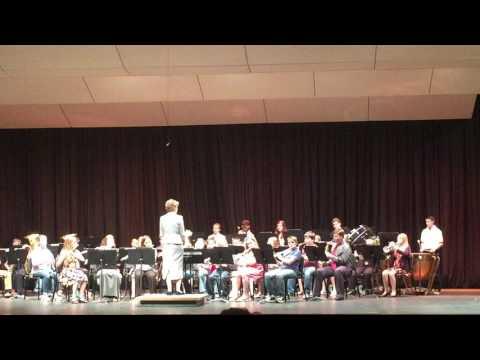 Cushing Middle School Beginning Band- May 2016