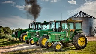 The Four Horsemen - John Deere Tractors
