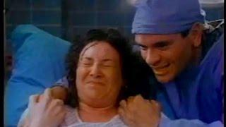 Debbie Pollack giving birth