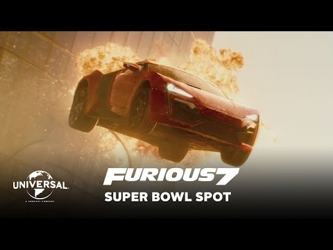 Furious 7 - Official Super Bowl Spot (HD)