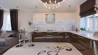 Дизайн частного дома. Современный стиль(Дизайн интерьера выполнен студией ARTlike (г.Киев, http://www.artlike.com.ua/, (044)331-63-58). Блестящие поверхности, изящные..., 2014-02-18T09:31:34.000Z)