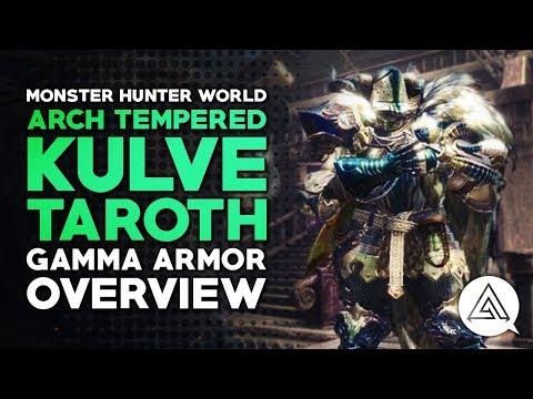 Monster Hunter World | Arch Tempered Kulve Taroth Gamma Armor Set