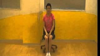 椅子に座って行うストレッチ体操 thumbnail