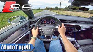 2020 AUDI S6 Avant POV Test Drive by AutoTopNL