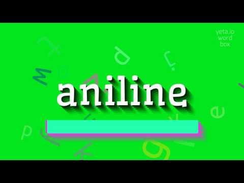 """How to say """"aniline""""! (High Quality Voices)"""