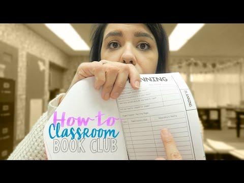 Teacher Vlog: Classroom Book Club