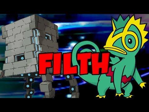 PROTEAN STAKATAKA COMBO In Pokemon Ultra Sun and Ultra Moon