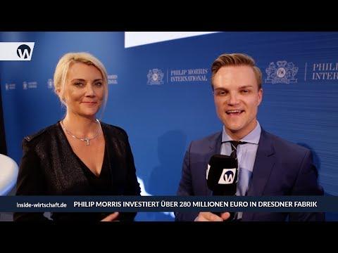Philip Morris investiert Millionen in Dresden - Kennedy & Tillich im Interview
