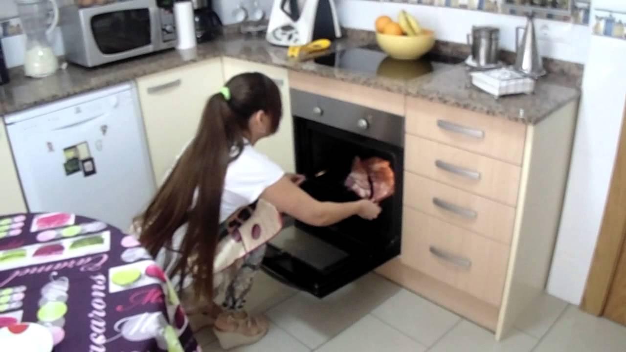 Costillas de cerdo al horno facil de cocinar doovi for Facil de cocinar