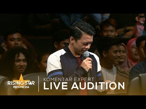 Ariel Baca Puisinya Parto | Live Audition 2 | Rising Star Indonesia 2019