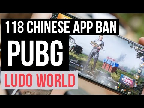 pubg,-ludo-world-and-118-other-chinese-app-ban-in-india---full-list-🔥🔥-#pubgban-#chineseappban